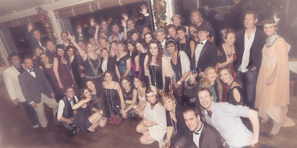 The VoiceOver Network VOND Gatsby Christmas Party
