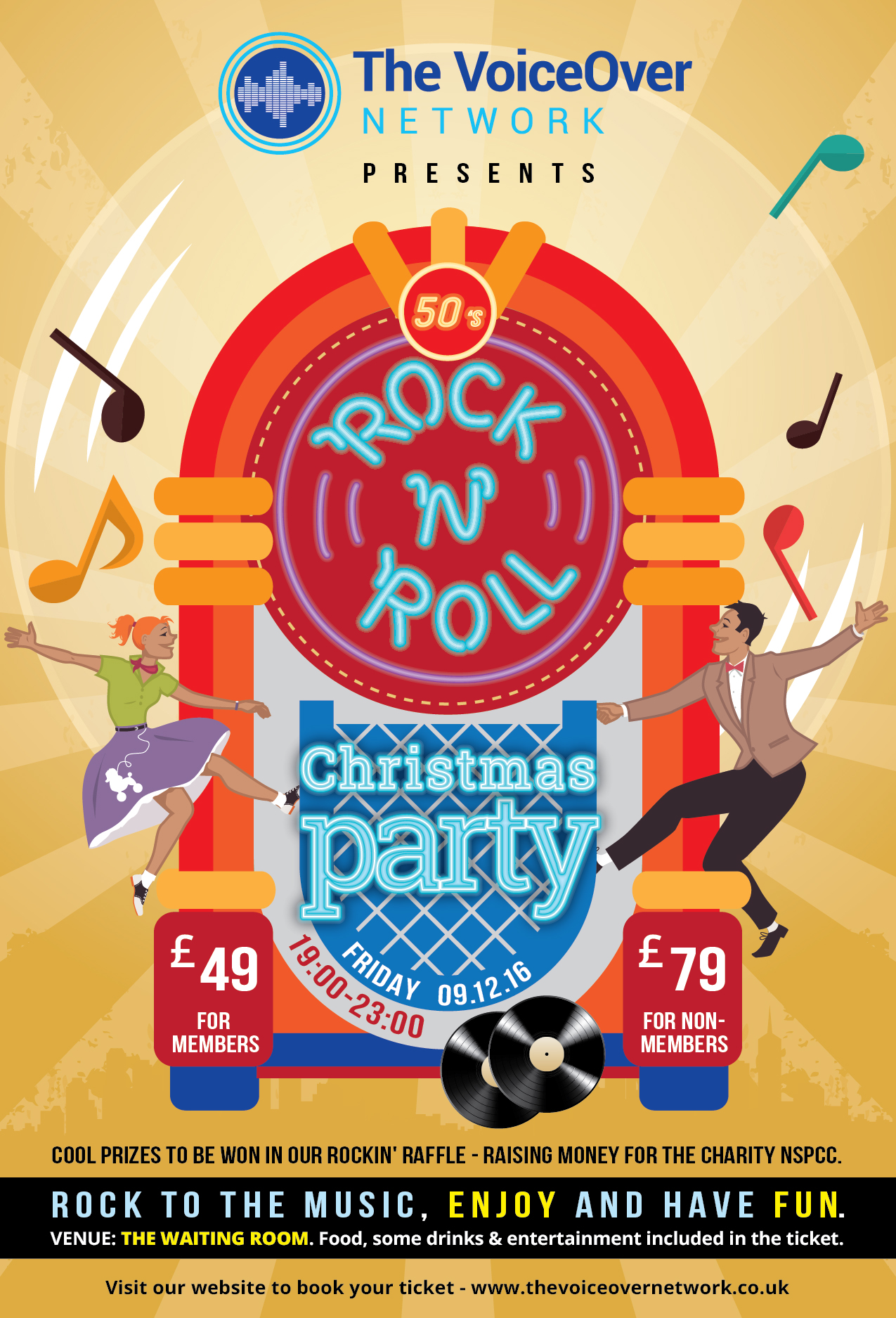 Christmas Party 2016 - 50s Rock N Roll - London